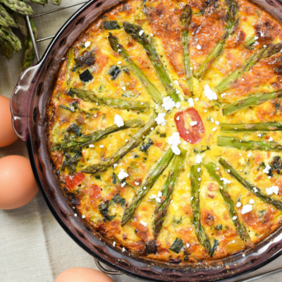 Healthy Crustless Quiche Recipe