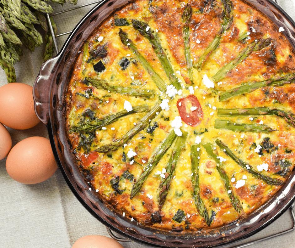 Garden Vegetable Crustless Quiche: 2 Ways » Emily Kyle Nutrition