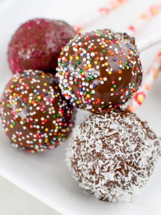 Healthy Cake Pops by Emily Kyle Nutrition