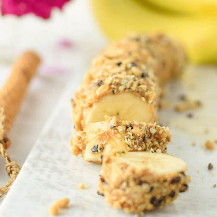 Banana Sushi by Emily Kyle Nutrition