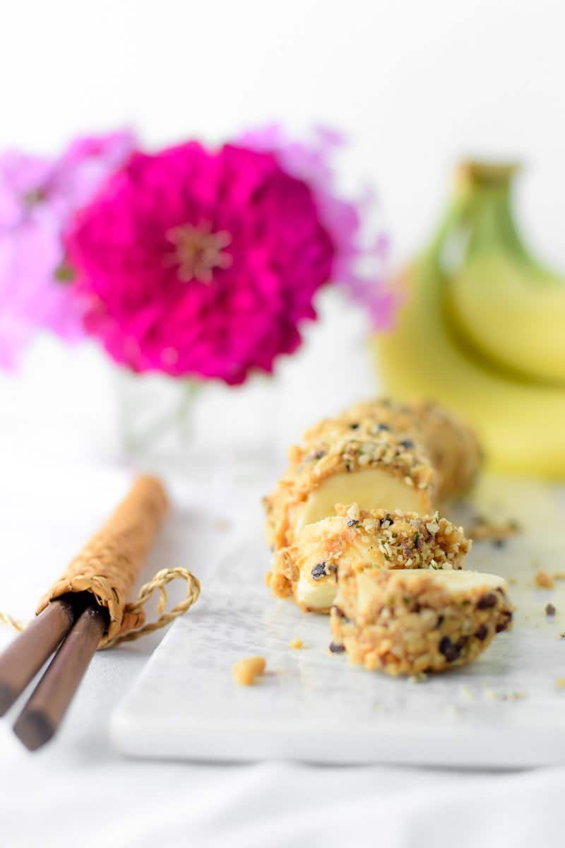 Banana Sushi by Emily Kyle Nutrition
