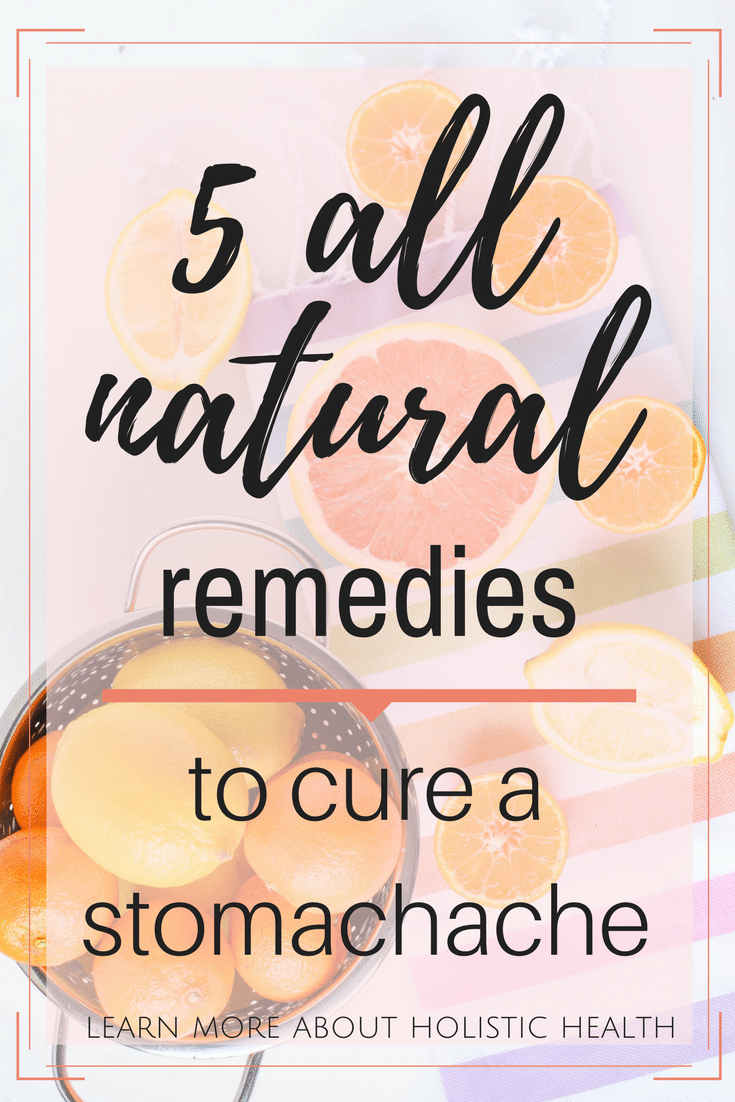 Do you reach for an over-the-counter medication when you have an upset stomach? Try some of these Natural Remedies to Cure a Stomachache first, your body will thank you later!