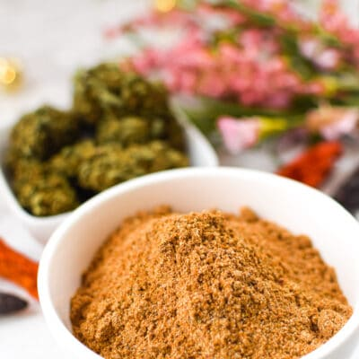 Cannabis-Infused Taco Seasoning (Vegan, Paleo, Corn-Free)