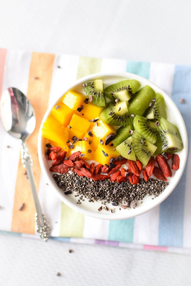 Immune Boosting Tropical Breakfast Bowl 187 Emily Kyle Nutrition