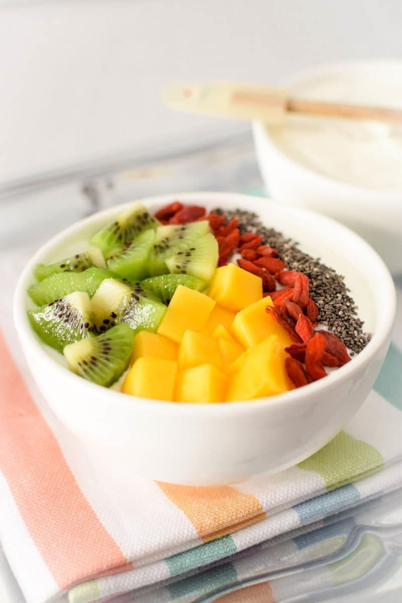 Immune Boosting Tropical Breakfast Bowl