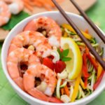 Cold & Spicy Thai Shrimp Bowl
