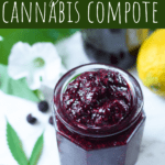 Cannabis Berry Chia Compote