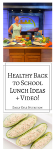 Get the best back to school lunch tips & tricks from nutrition expert and registered dietitian Emily Kyle.