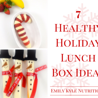 Get inspired with these super adorable Healthy Holiday Lunch Box Ideas that are fun & festive enough for any kid or adult lunch box this holiday season!