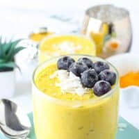 Turmeric Golden Milk Yogurt Bowl