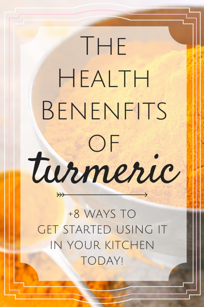 Discover the Health Benefits of Turmeric and how you can use this Super Spice in just about any recipe you love from soups, to dips, side dishes, beverages, smoothies and everything in between!