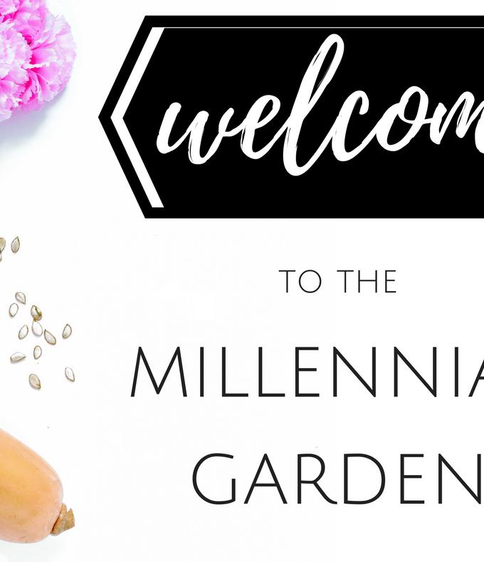 Welcome to The Millennial Garden