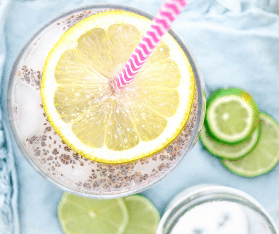 Delicious & refreshing, this Citrus Chia Fresca is the perfect drink to help nourish and hydrate you at any party or get together, during the hot summer months, after a sporting event, or whenever you are thirsty!
