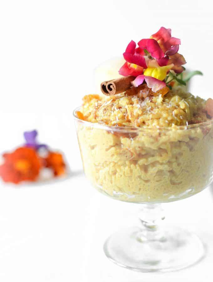 Thai Coconut Vegan Rice Pudding