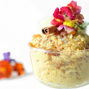Enjoy this Thai Coconut Vegan Rice Pudding that is naturally gluten-free and easily made in the rice cooker for a quick and easy treat the whole family will love!