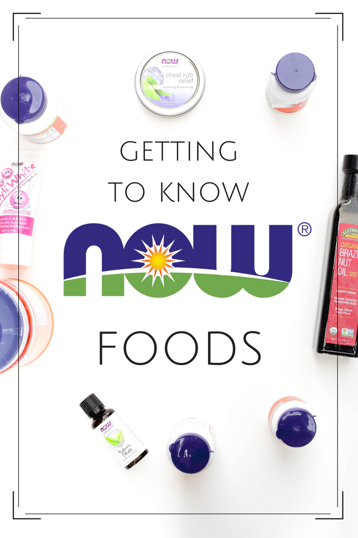 Getting to Know NOW Foods from Emily Kyle Nutrition