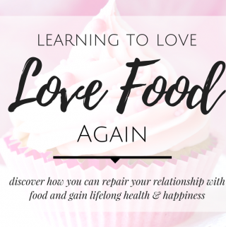 Discover how you can repair your relationship with food and gain lifelong health & happiness while Learning to Love Food Again