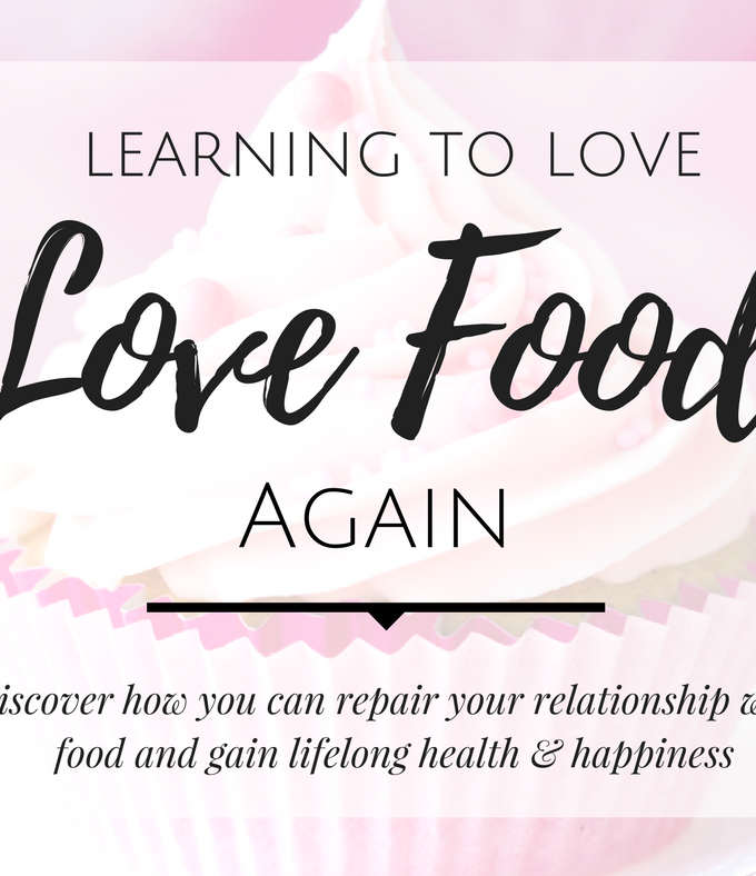 Learning to Love Food Again