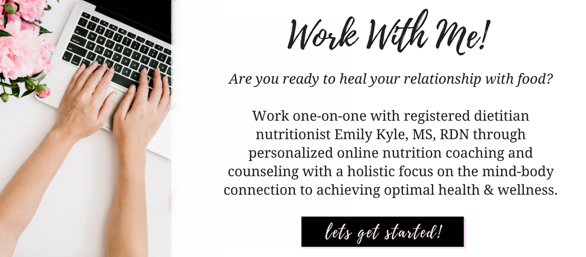 Work With Me – Holistic Nutritionist