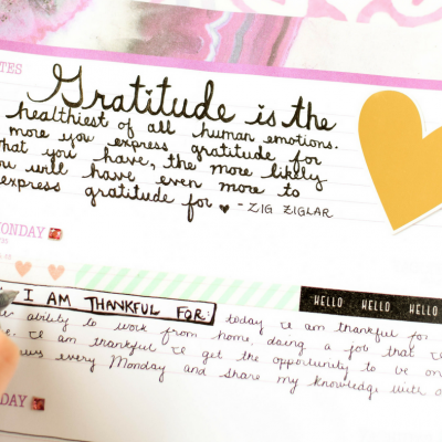 How to Start a Gratitude Journal: 4 Simple Steps