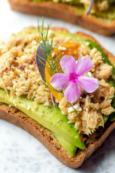 Lemon Salmon Avocado Toast Emily Kyle Nutrition