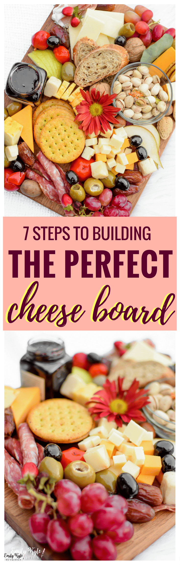 Create your own customized cheese board with a vegetarian option by following these 7 Steps to Building the Perfect Cheese Board! #ad #CheeseAddiction #IC