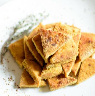 Perfectly Baked Cheesy Crispy Tofu Emily Kyle