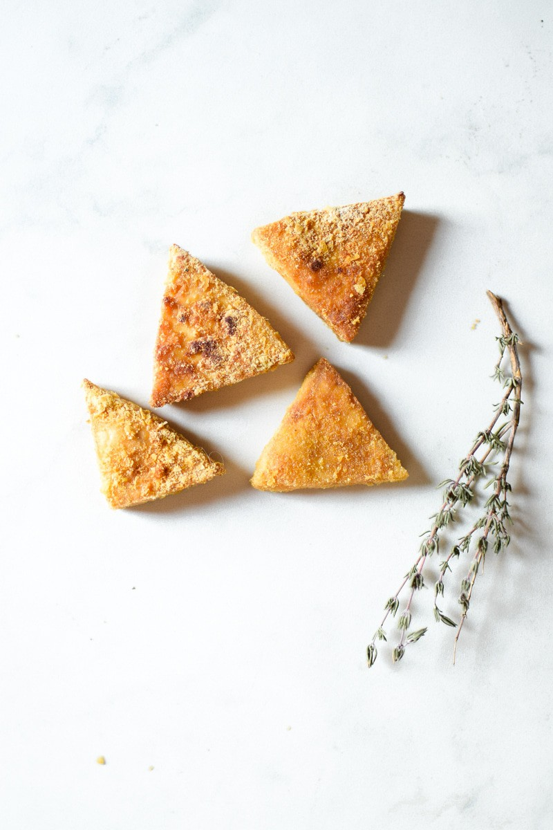 Baked Cannabis Tofu Bites