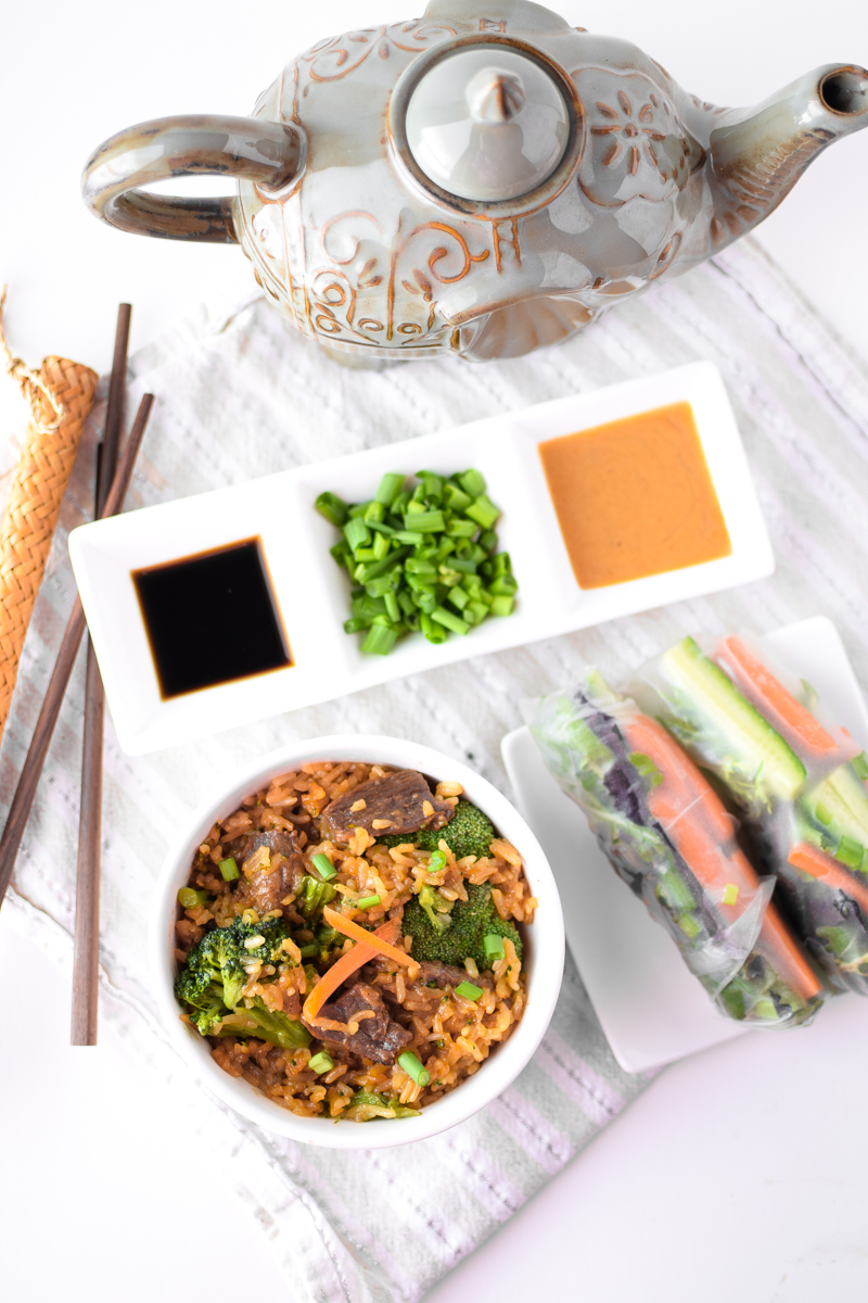 Asian Themed Date Night In by Emily Kyle Nutrition