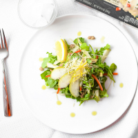 Citrus Arugula & Pear Salad