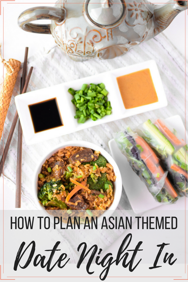 Satisfy all of your cravings while saving time, money, and energy by having an Asian Themed Date Night In! #ad #TaiPeiFrozenFood #IC