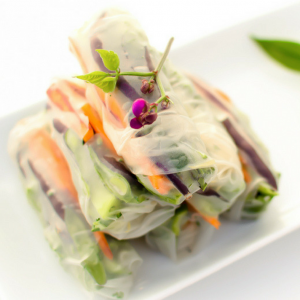 Step by Step Guide to Rolling Fresh Spring Rolls