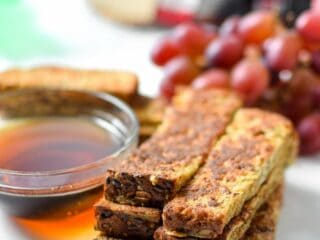 Healthy French Toast Sticks by Emily Kyle Nutrition
