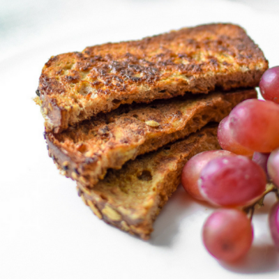 Healthy French Toast Sticks – Only 4 Ingredients