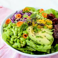 Korean Bulgogi Beef Salad Bowl