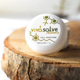 VivaSalve Recovery Cream 500mg CBD Emily Kyle Nutrition