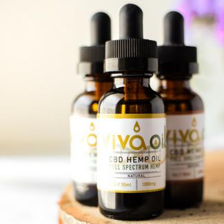 VivaOil Full Spectrum CBD Hemp Oil Emily Kyle Nutrition