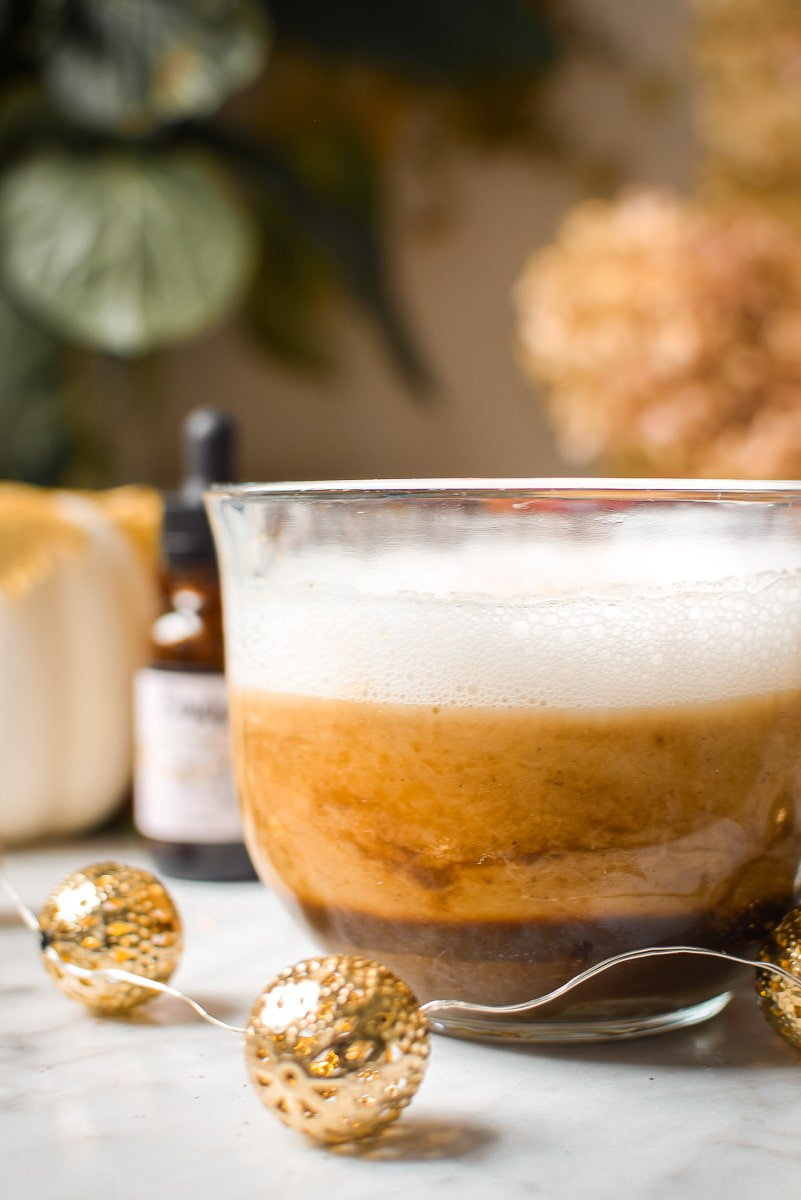 Cannabis Infused Pumpkin Spice Latte by Emily Kyle Nutrition