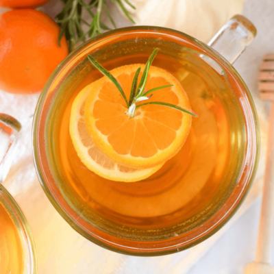 Mandarin Orange & Rosemary Hot Toddy