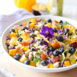 Cannabis Rainbow Chicken Salad