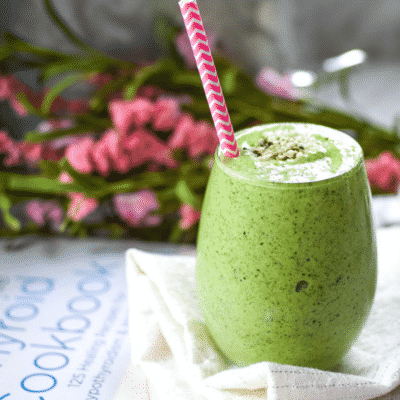CBD Infused Green Hemp Seed Smoothie