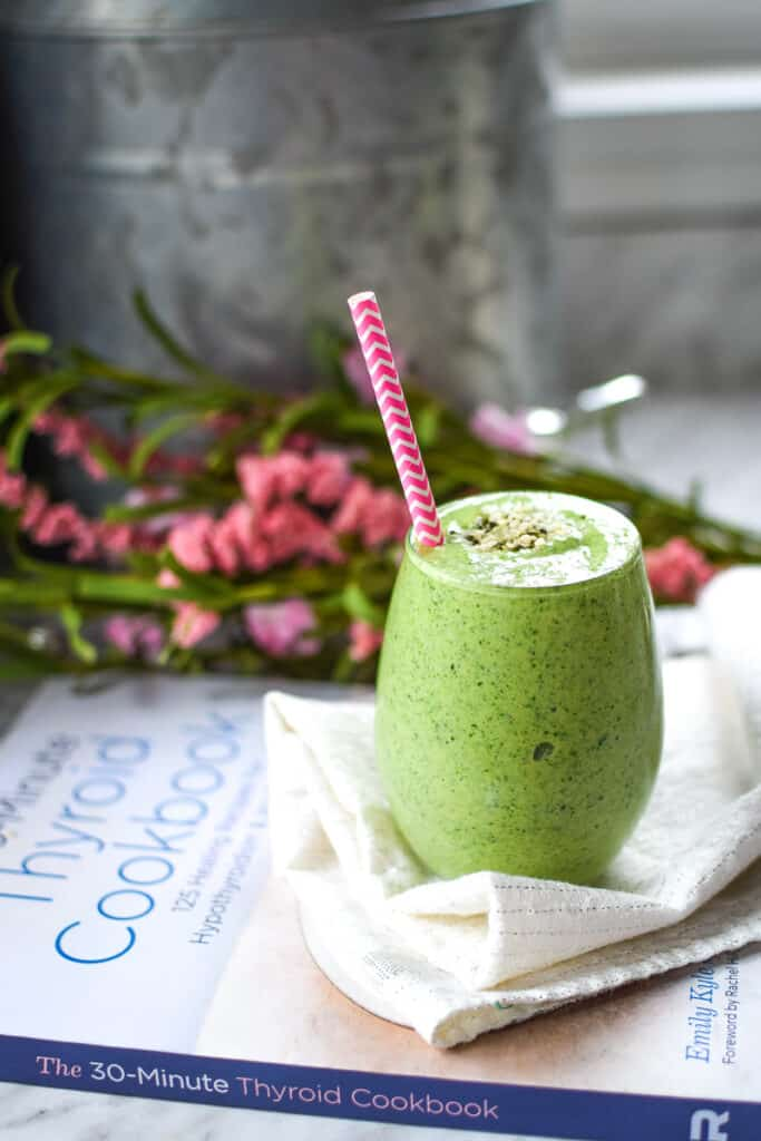 Green Dream Hemp Seed Smoothie » Emily Kyle Nutrition
