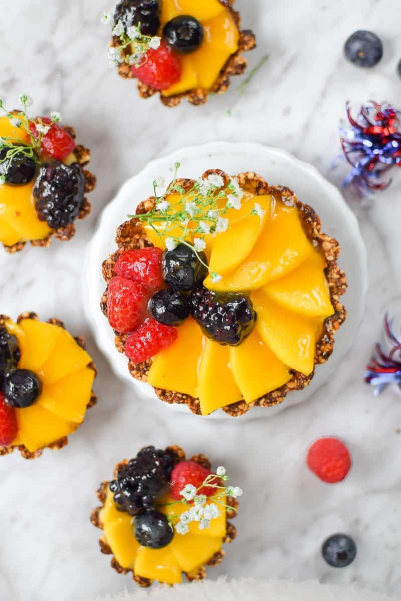 Mini-Mango Fruit Tart