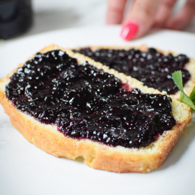 Wild Blackberry or Black Raspberry Jam