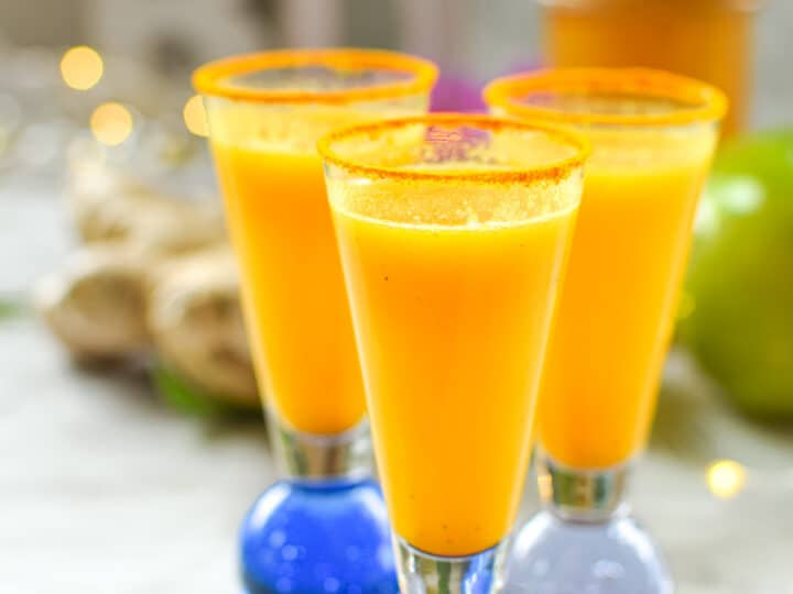 Ginger Turmeric Shots Infused With CBD