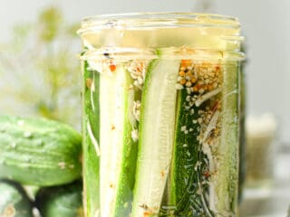 Homemade Horseradish Pickles by Emily Kyle Nutrition