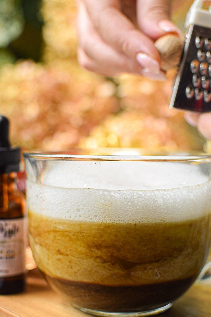 CBD Infused Pumpkin Spice Latte