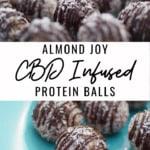CBD Almond Joy Protein Balls