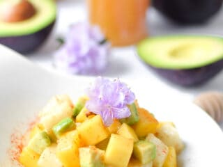 Mango Jicama Salad by Emily Kyle Nutrition
