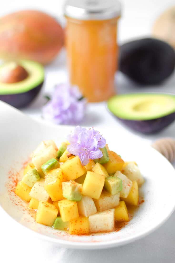 Mango Jicama Prebiotic Salad